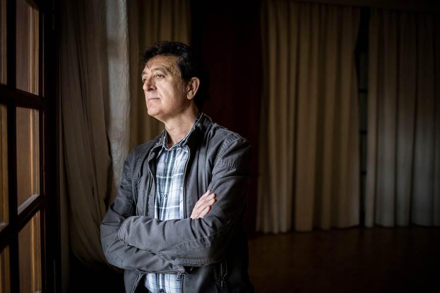 Manolo García, ayer, en el Hotel Mencey de Santa Cruz. | ANDRÉS GUTIÉRREZ