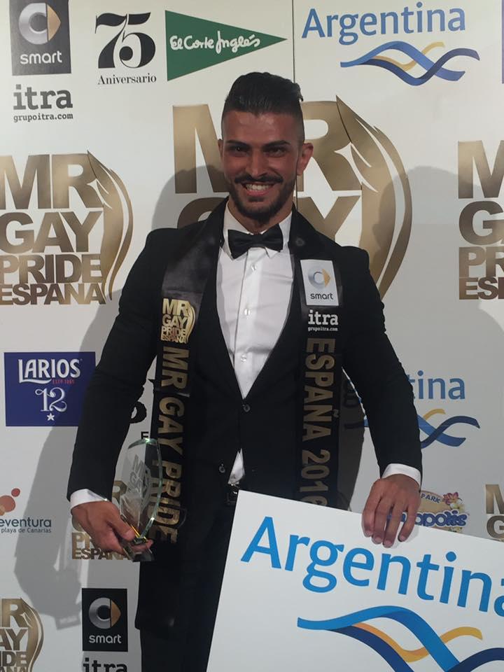 Mr Gay España Cándido 1