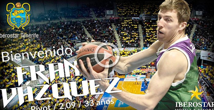 Fran Vázquez, nuevo jugador del Iberostar Tenerife