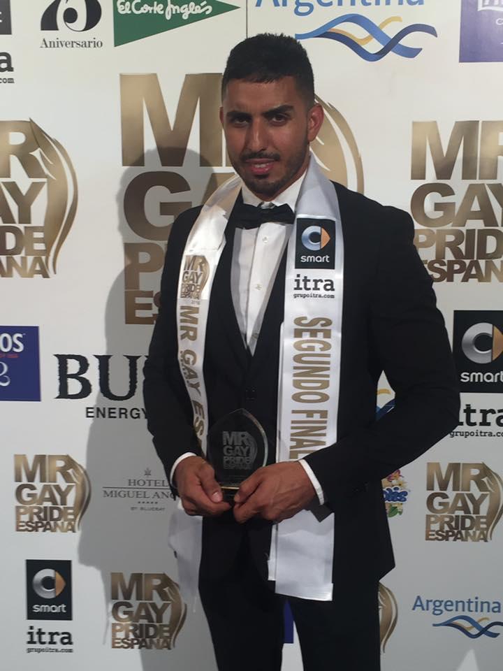 mr gay 2 finalista Gran Canaria