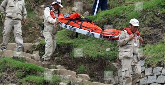 Una turista tinerfeña sobrevive de milagro a un rayo en Machu Picchu