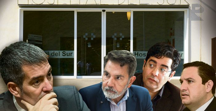 """""""Clavijo tendrá enfrente a todo el Sur si pretende cerrar el Hospital"""""""