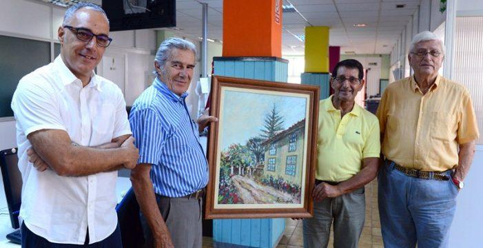 El DIARIO cumple 20 años promocionando  a los pintores canarios