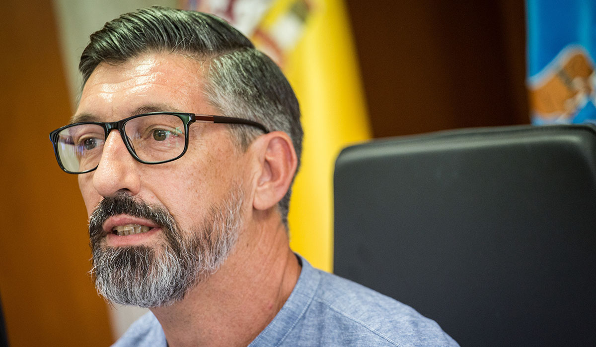 Emilio Soler, taxónomo e investigador del Banco Español de Algas. Andrés Gutiérrez
