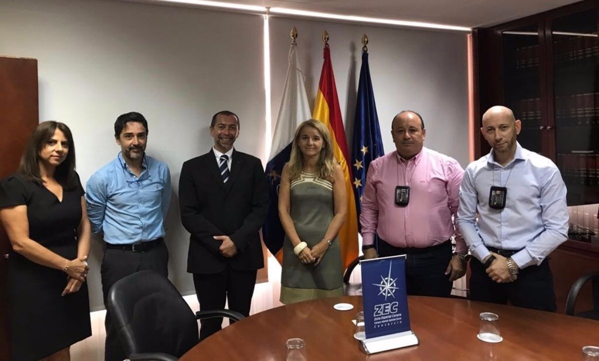 De derecha a izquierda, Manrico Erriu, Saverio Ciampi, Olga Martín Pascual (ZEC), Massimiliano Garruzzo, Octavio Cabrera Toste y Letizia Ferrari. DA