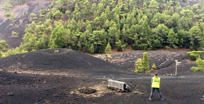 Un terremoto de 3,2, el más intenso registrado este miércoles en La Palma