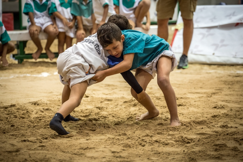 Foto de archivo, del I Torneo Fundación CEPSA de equipos de la categoría prebenjamín y benjamín de Tenerife,   Andrés Gutiérrez
