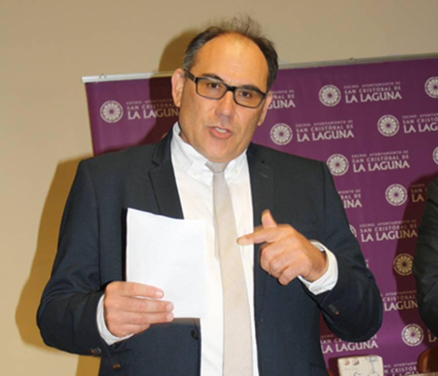Jorge García Hernández, presidente en Canarias de la Sociedad Española de Estudios Clásicos.   DA