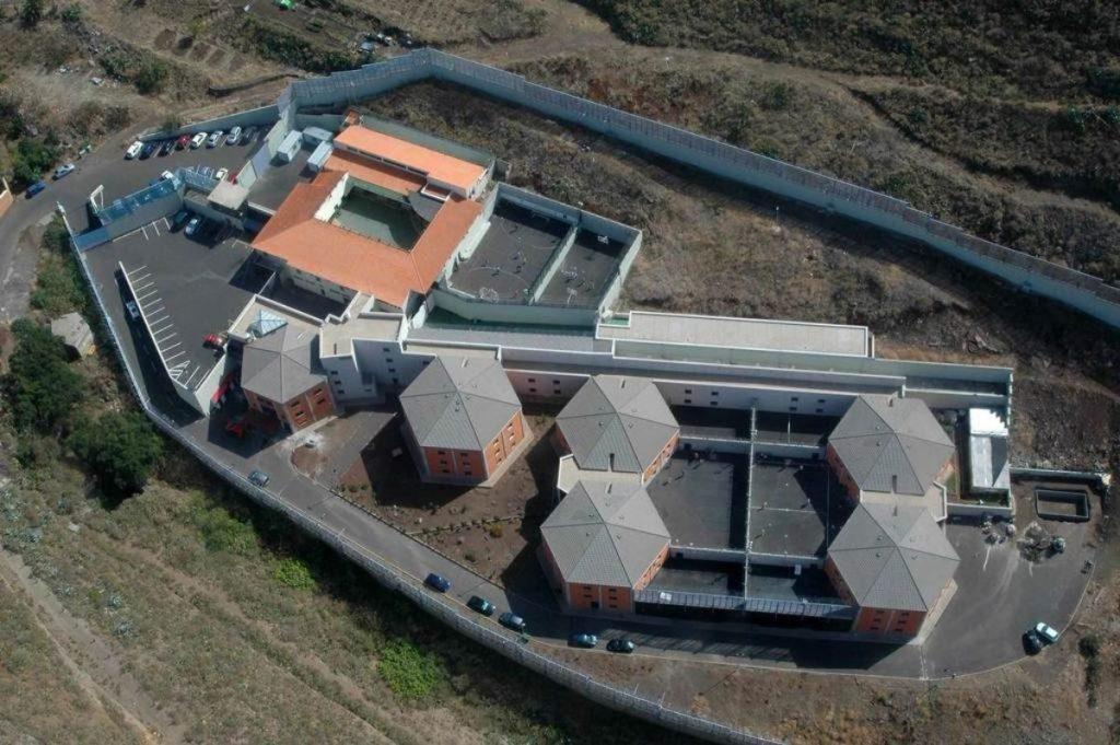 Vista aérea del Centro para menores de Valle Tabares. DA
