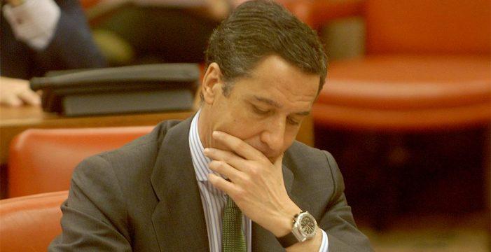 La Fiscalía pide prisión incondicional y sin fianza para Zaplana