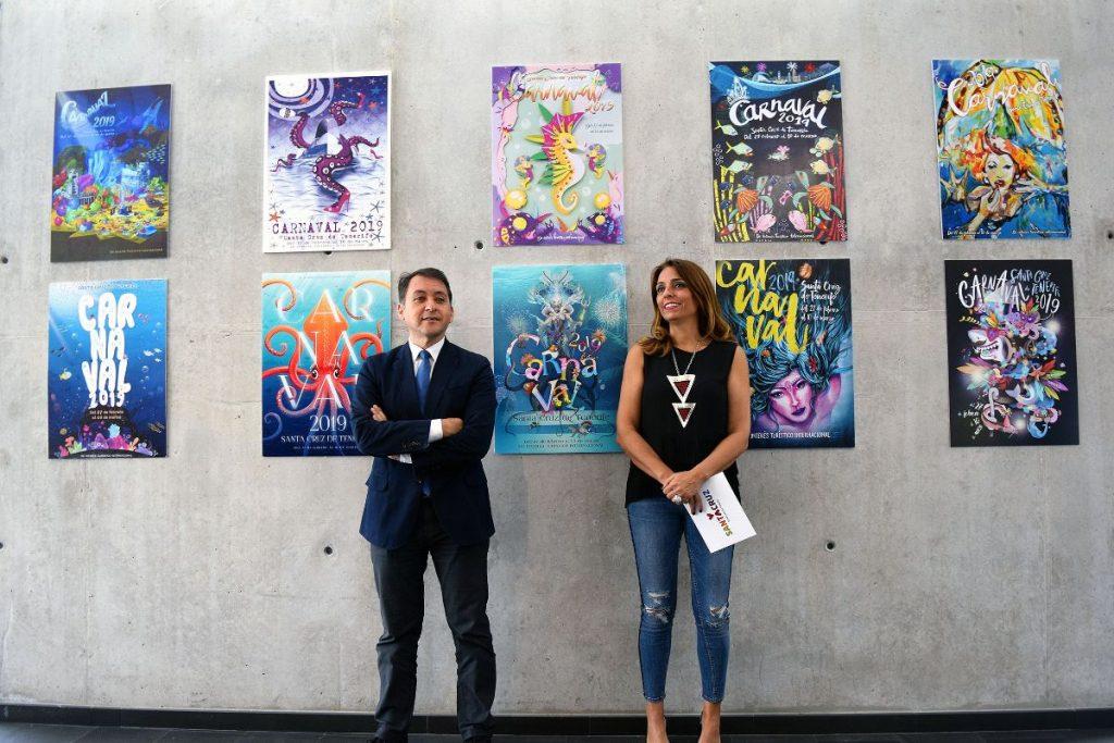 Presentación de candidatos a cartel del Carnaval 2019 de Santa Cruz de Tenerife.   Foto: Sergio Méndez