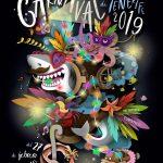 Candidatos al cartel oficial del Carnaval de Santa Cruz de Tenerife 2018.