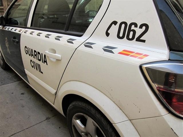 Coche patrulla de la Guardia Civil. | DA