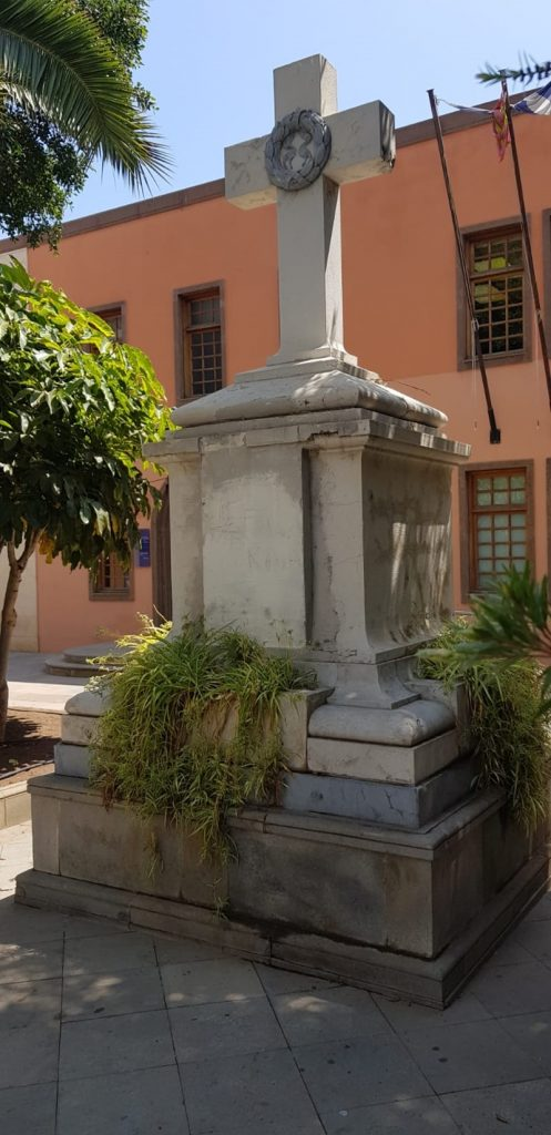 Monumento a los Caídos en Güímar. / DA