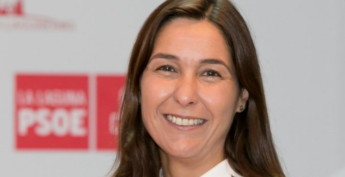 Mónica Martín presenta su candidatura a las primarias del PSOE en La Laguna