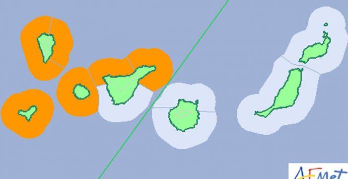 Aviso naranja por fenómenos costeros adversos para este sábado