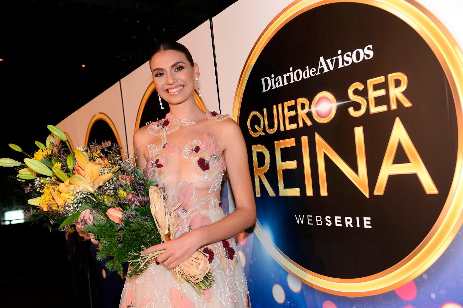 Ariadna Fregel, ganadora del concurso Quiero ser Reina / Foto: Sergio Méndez