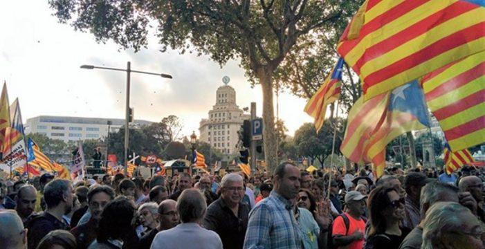 """La CUP lanza una campaña de movilizaciones para parar Cataluña durante el juicio a los presos: """"Alcémonos. Paremos el país"""""""