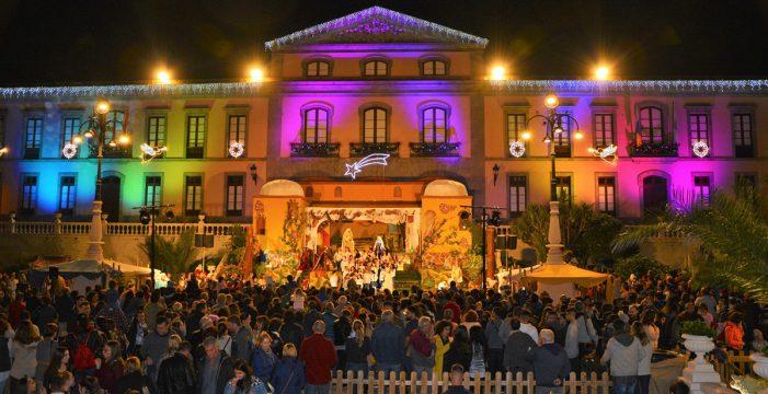 La Villa de La Orotava le da la bienvenida a la Navidad por todo lo alto