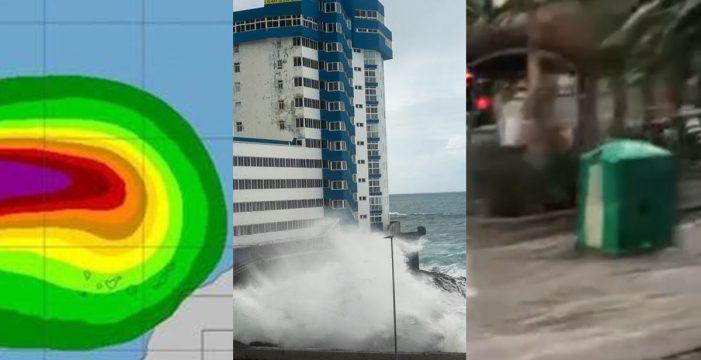 De Leslie a la ola monstruosa que arrancó un balcón: 2018, en 5 temporales