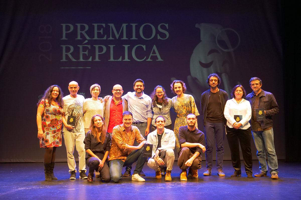 PREMIOS RÉPLICA 2018