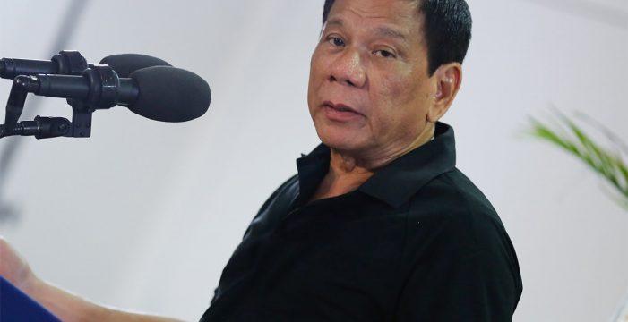 El presidente de Filipinas alardea de que intentó violar a su criada cuando era adolescente