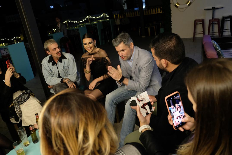 Ariadna Fregel en un encuentro con influencers en El Ático by NH / Foto: Fran Pallero