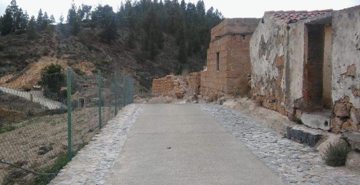 Al fin regresarán los coches hasta el caserío de Las Fuentes, en Guía de Isora