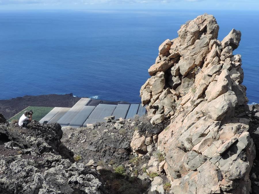 Vista del Roque Teneguía. | Jorge Pais