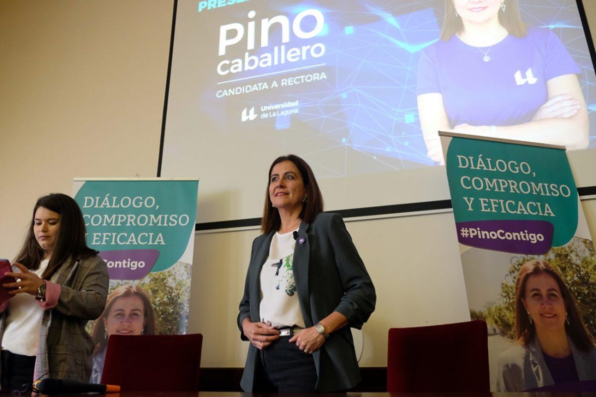 Presentación candidatura Pino Caballero Gil a rectora de la Universidad de La Laguna.  Fran Pallero