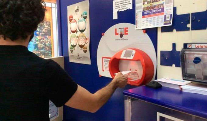 Caen en Canarias dos premios de la Lotería Nacional