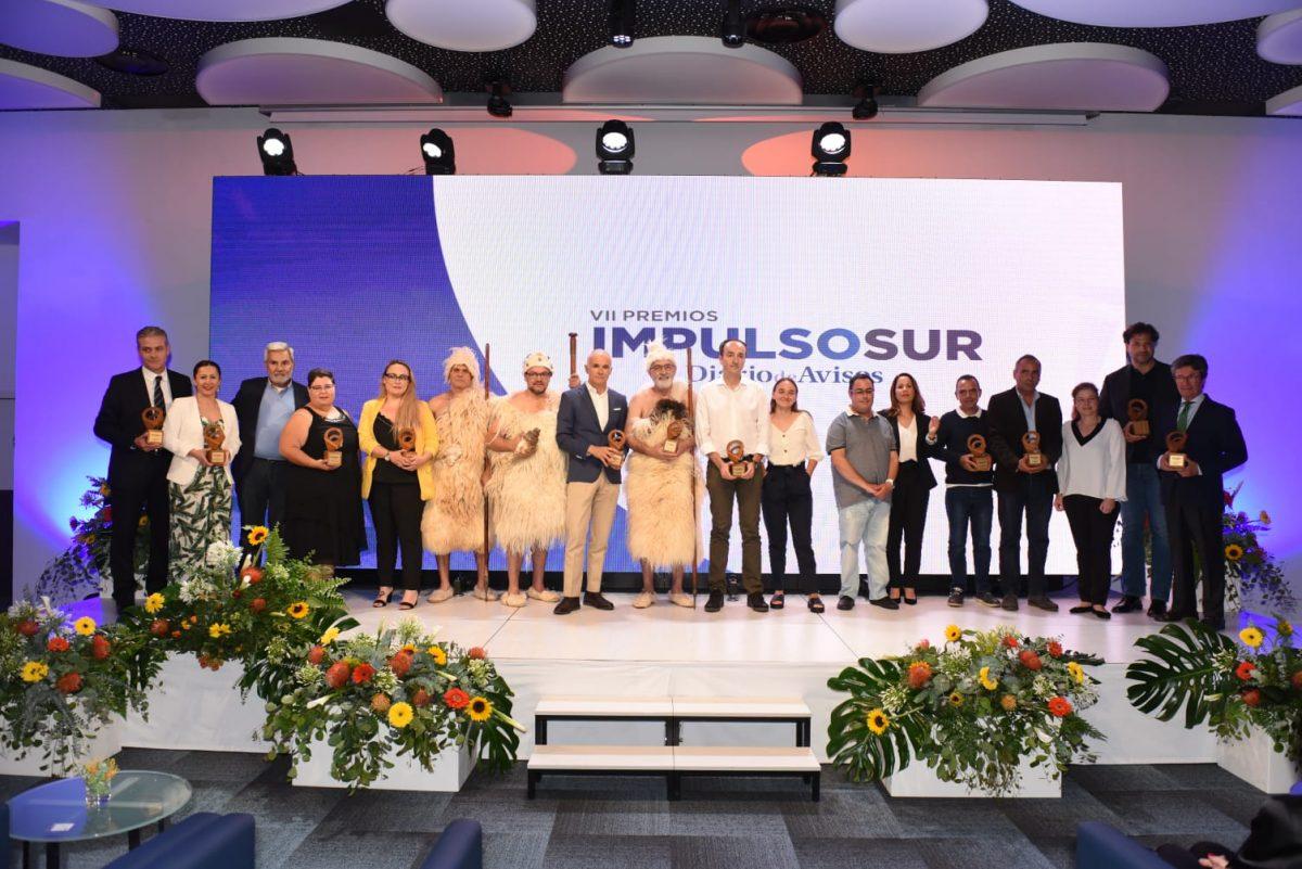 Estos han sido los premiados en Impulso Sur. Sergio Méndez