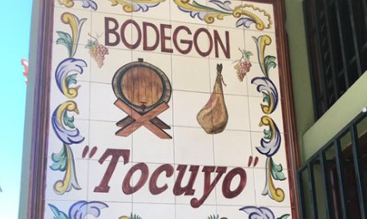 Cartel de Bodegón el Tocuyo. Twitter de Félix Díaz H