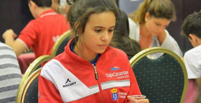 La tinerfeña Adhara Rodríguez, subcampeona mundial de ajedrez