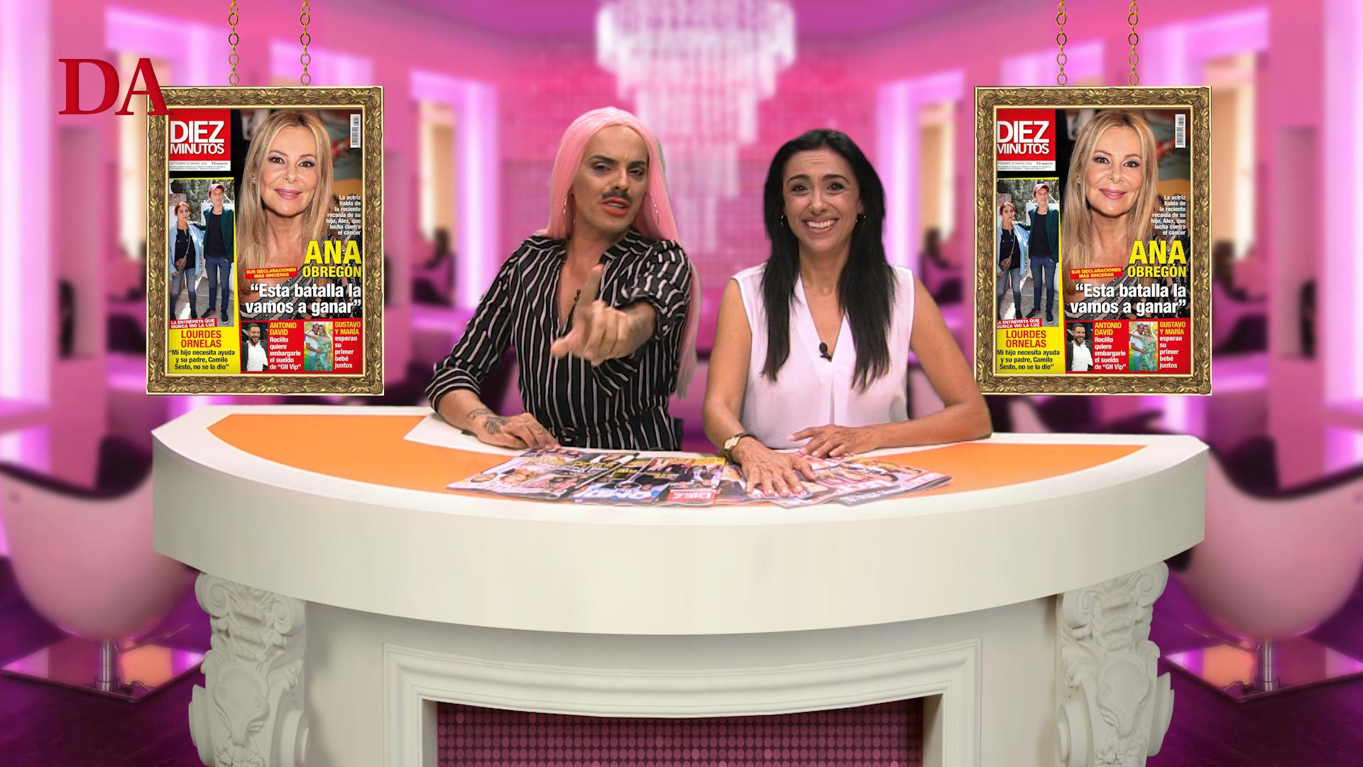 Rocío Flores, la nueva estrella de la tele o el polémico video de Letizia, en Kiosco Rosa.