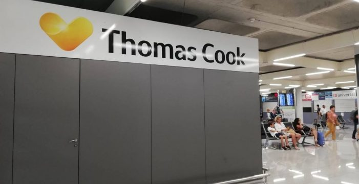 Las empresas afectadas por la quiebra de Thomas Cook podrán tener ayudas directas