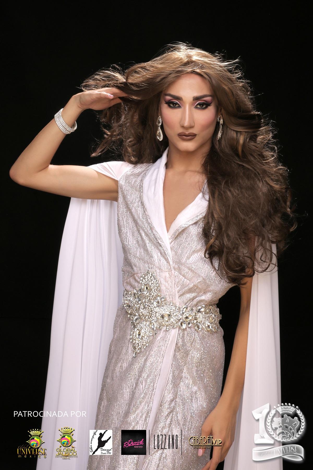 Representante de Regular México en Global Universe, Andonni Yunoem