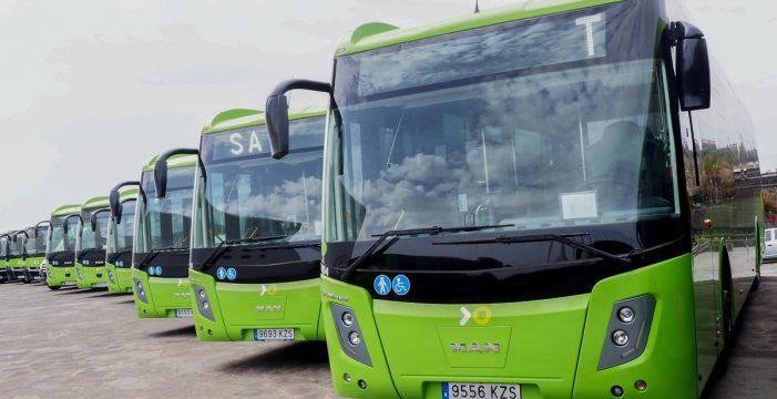Santa Cruz obtiene una subvención al transporte por 2 millones de euros