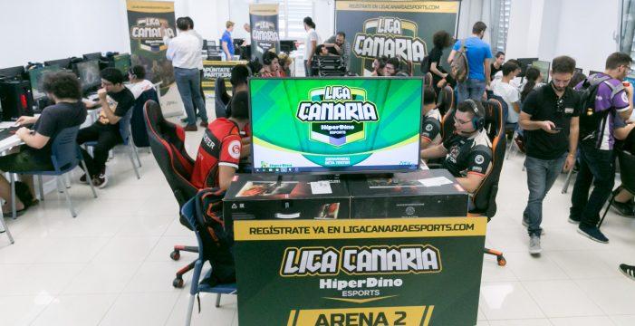 "Este fin de semana llega el primer ""split"" de la Liga Canaria de eSports Hiperdino"