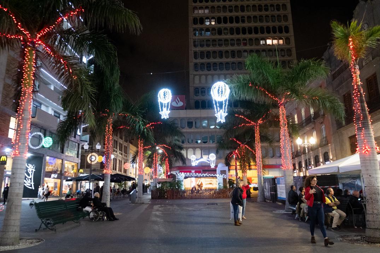 La plaza de la Candelaria será uno de los escenarios principales en los que se podrá disfrutar mañana de las actividades de Navilunio. Fran Pallero