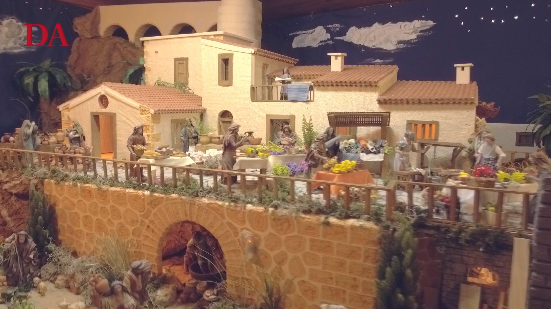 Visitamos el belén de Carlos Bethencourt, en Güímar