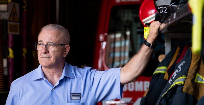 """Salvador Reyes: """"Tenerife necesita el Parque de Bomberos de Arona y más personal para la extinción de incendios"""""""