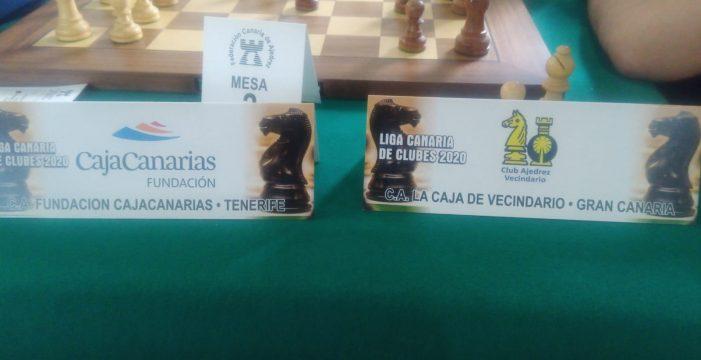 El CajaCanarias, primer líder de la nueva Liga Canaria de Ajedrez
