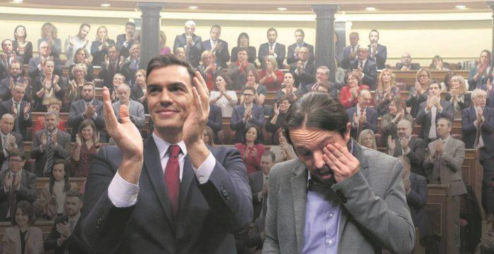PSOE y Podemos convocan la próxima semana la comisión de seguimiento del pacto de coalición