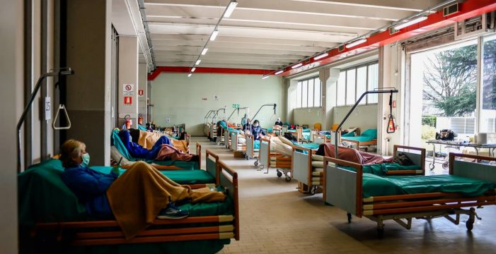 Italia supera el umbral de los 2.500 fallecidos con coronavirus