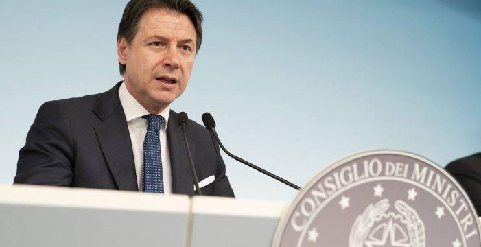 Italia anuncia el cierre de todos los comercios excepto farmacias y supermercados por el coronavirus