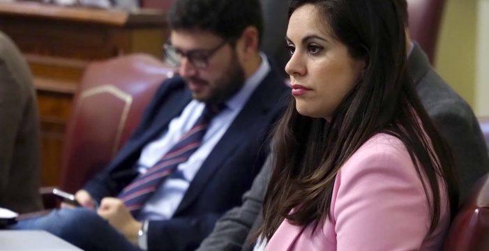 """Vidina Espino, imputada por hablar de """"tamayazo"""" en Santa Cruz"""