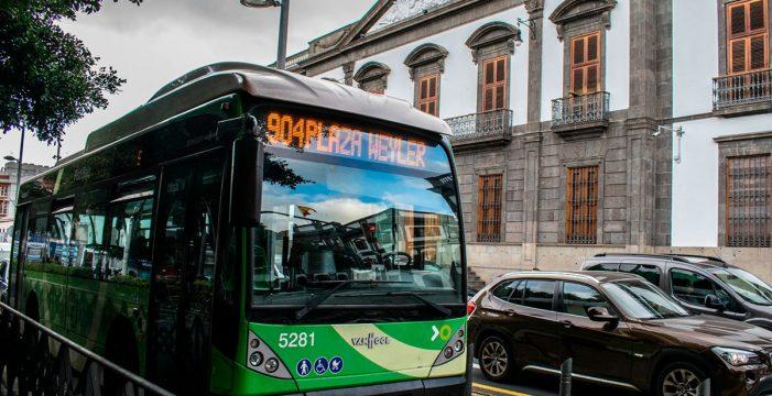 El PSOE exige que se recupere el servicio de guaguas de Santa Cruz al 100%