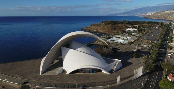 Puertos cede la zona externa del Auditorio y Palmetum para un futuro espacio de ocio