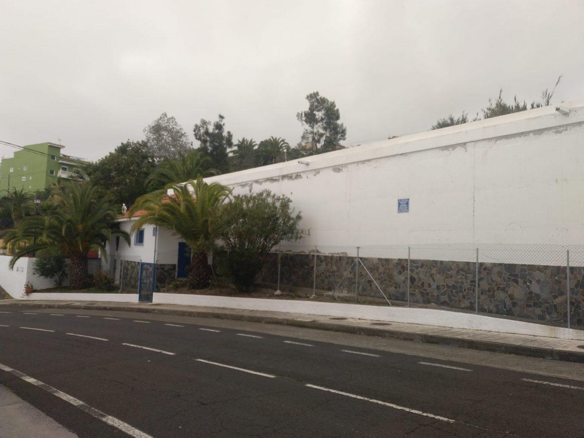 Depósito de Los Canarios, en San Juan de la Rambla, el que suministra a mayor número de vecinos y recientemente reformado. DA